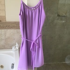 Guess lavender slip dress